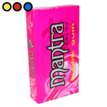 papel mantra chicle globo tabaco