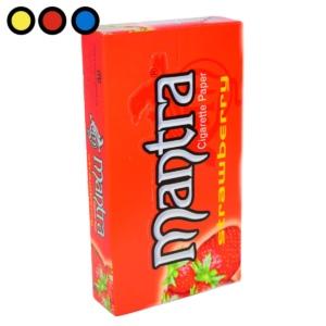 papel mantra frutilla tabaqueria
