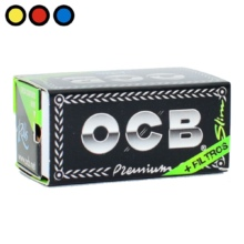 papel ocb rolls slim premium tips venta