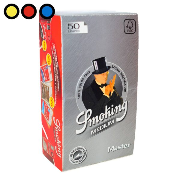 papel smoking master oferta