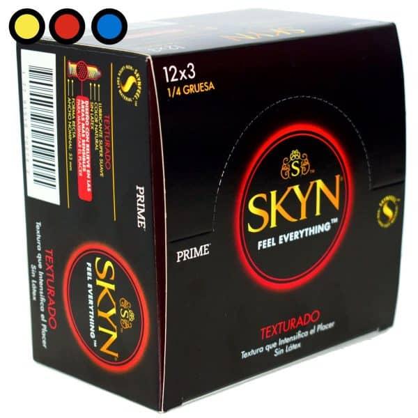 preservativo prime skyn texturado precio por mayor