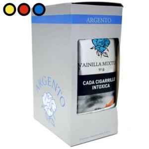 tabaco para pipa argento vianilla