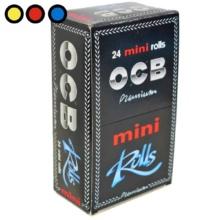 papel ocb mini rolls premium tabaqueria mayorista