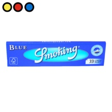 papel smoking king size blue tabaqueria