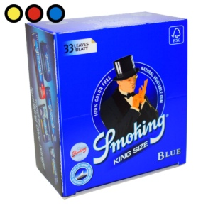 papel smoking king size blue oferta