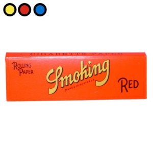 papel smoking red growshop