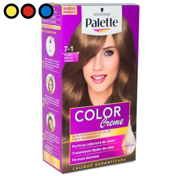 tintura palette rubio medio 71 precio