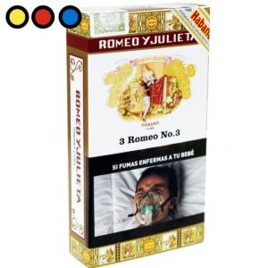 cigarro romeo y julieta n3 tabaqueria habanos