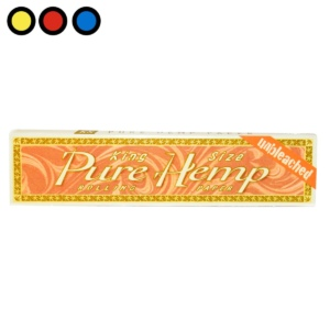 papel pure hemp unbleached king size venta
