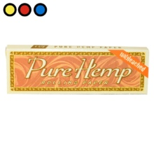 papel pure hemp unbleached lillo