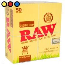 papel raw organico king size precios