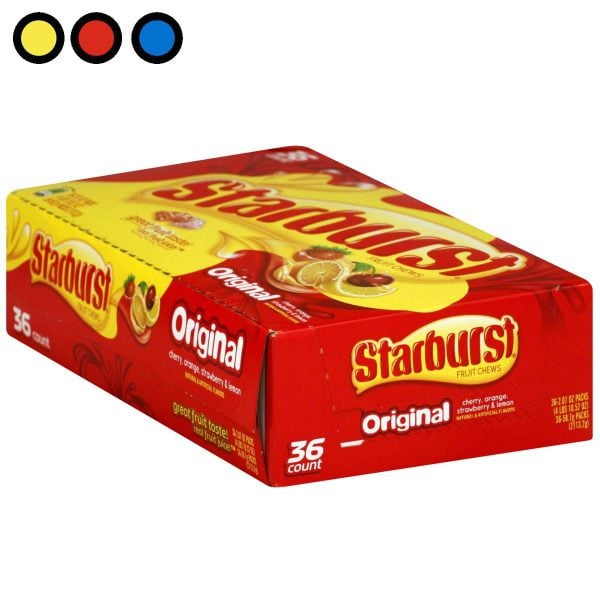 caramelos starburst precio por mayor