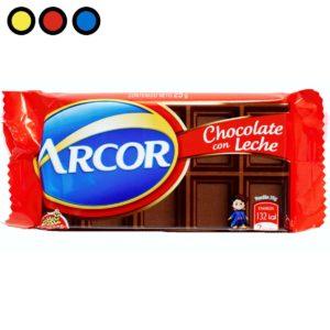 chocolate arcor por mayor leche