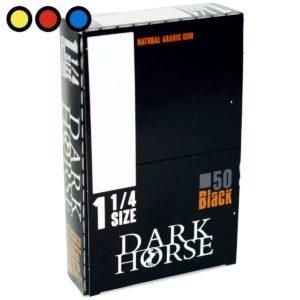 papel dark horse negro cigarrillos