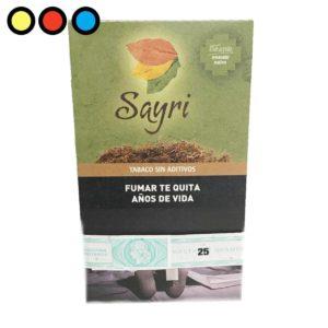 sayri amasado nativo 25gr tabaco