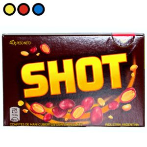 mani con chocolate shot