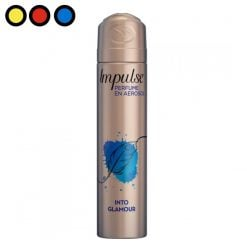 desodorante impulse into glamour