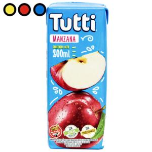 jugo tutti manzana