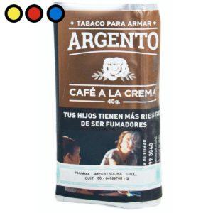 tabaco argento cafe a la crema precio mayorista