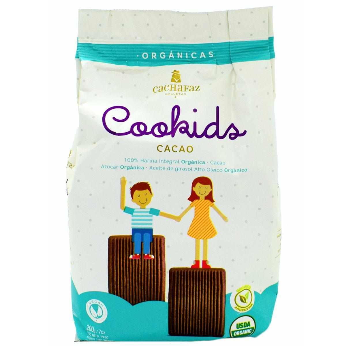 galletitas cachafaz cookids de cacao precio mayoristas