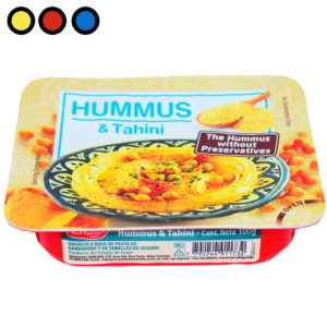 hummus red spoon 100gr. precio