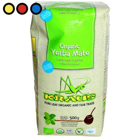 yerba organica kraus pura hoja venta online