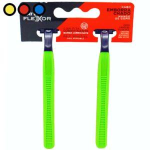 afeitadora flexor 2 filos mango goma precios
