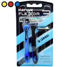 afeitadora flexor anatomica azul mayorista