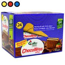 oblea choconuss gallo precios
