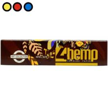 papel 4hemp brown king size tabaqueria