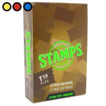 papel stamps unbleached precio