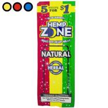 blunt hemp zone natural precios
