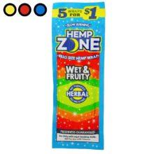 blunt hemp zone wet and fruity precios