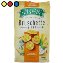 bruschette maretti cuatro quesos venta online