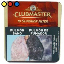 cigarros clubmaster superior filter vainilla