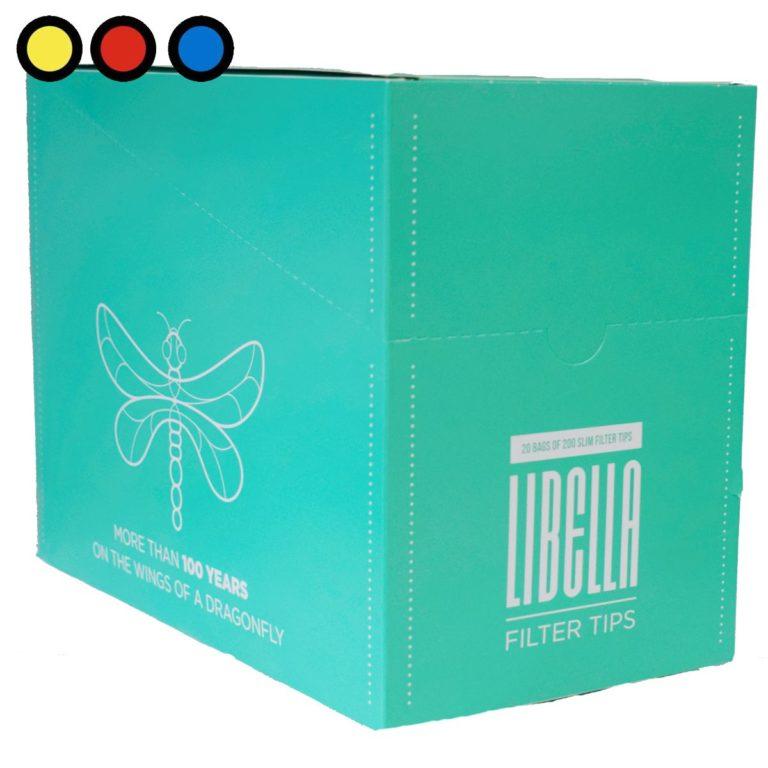filtros libella slim mentolados