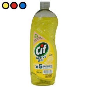 detergente cif active gel limon precio
