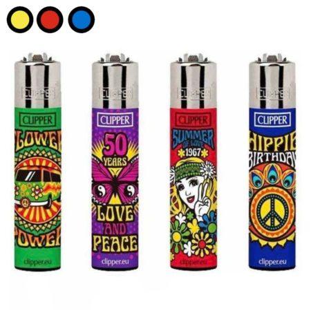 encendedores clipper hippies precios mayoristas
