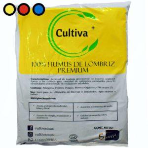 humus de lombriz 5dm3 precio