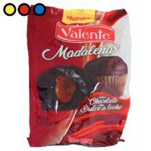madalenas valente chocolate por mayor