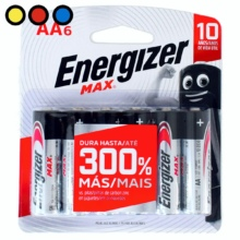 pilas energizer max aa6u mayorista