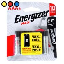 pilas energizer max aaa6u mayorista venta