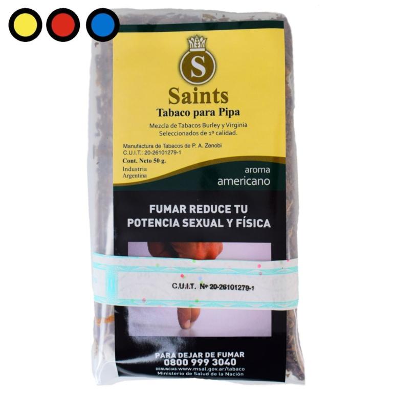 tabaco pipa saints americano precios