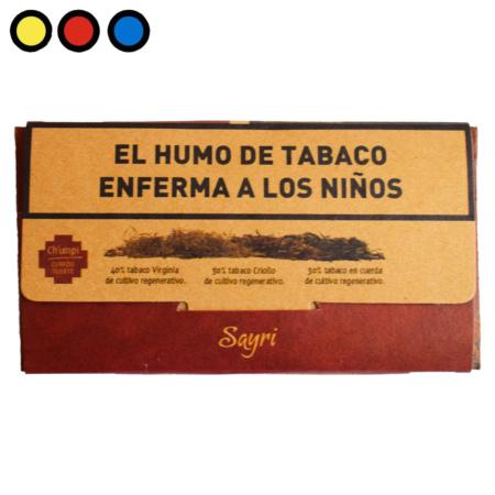 tabaco sayri chumpi curado fuerte precios mayoristas