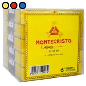 cigarros montecristo mini 10 precios por mayor