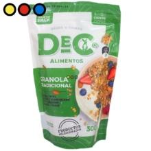 mix frutos secos granola precios