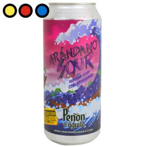 cerveza peñon del aguila arandanos precios