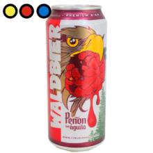 cerveza peñon del aguila frambuesa