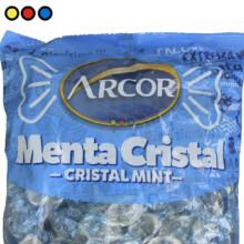 Caramelo arcor sabor menta cristal precio mayorista online
