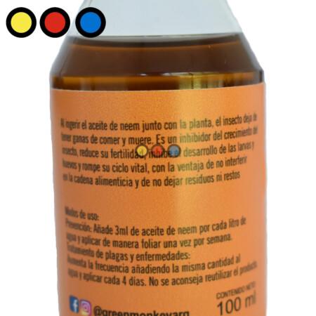 aceite neem 100mm mayorista
